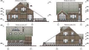 Курсовой проект Кульман проектирование и расчет Курсовой проект по архитектуре Двухэтажный кирпичный коттедж