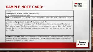 015 Research Paper Note Cards For Papers 6314979 Design