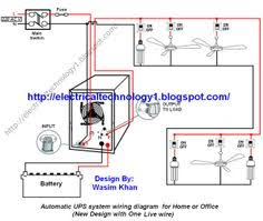 three phase motor connection star delta without timer power Electrical Power Point Wiring Diagram automatic ups system wiring circuit diagram for home or office (new design with one live Electrical Wiring Diagrams For Dummies
