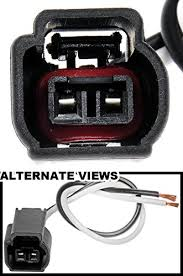 amazon com apdty 756681 2 wire wiring harness pigtail connector  at Wiring Harness Kit For 4 6 Catylist Remival