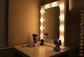 mirror with light bulbs ikea vanity lights around it in lighting home improvement bathroom mirrors mirror with light bulbs around
