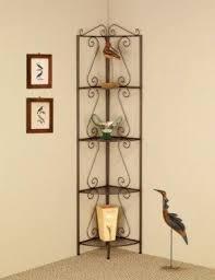 corner rack for living room. 4 tier corner shelf goldish copper corner rack for living room