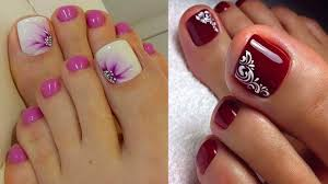 Toe Nail Colors And Designs Toe Designs Forza Mbiconsultingltd Com