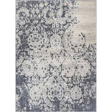 well woven pearl ora dark grey 5 ft x 7 ft modern abstract oriental