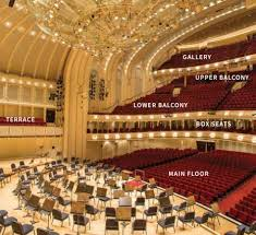 Cso Seating Chart With Seat Numbers 35 Faithful Chicago Symphony Center Seating Chart