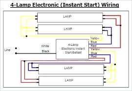 4 lamp t12 ballast wiring diagram wiring diagram technic