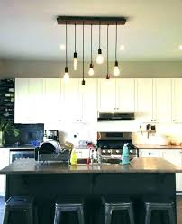 kitchen hanging pendant lights how