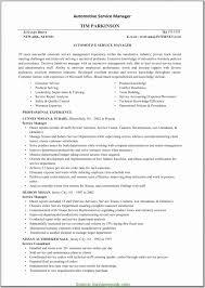 Automotive Service Manager Resume Sample Car Dealer Manager Resume Sample Impressive Fresh Auto Service 2