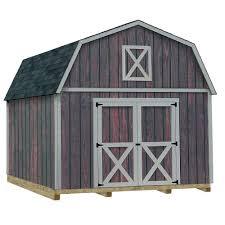 best barns denver 12 ft x 16 ft wood storage shed kit with floor