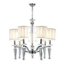 chandelier with shade chelier 1861994 lamp shades ikea mini crystals white