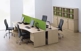 office desking. opto panel leg office desking