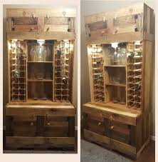 Secret Liquor Cabinet Rustic Farmhouse Style Wine Liquor Cabinet By Beautifulhousecanada