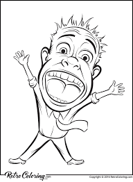 Small Picture Screaming business person coloring page RetroColoring
