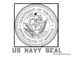 Coloring Pages Flowers Roses Navy For Kids Us Seal Seals Sheets