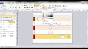 Flow Chart Youtube Create A Swim Lane Flowchart In Visio