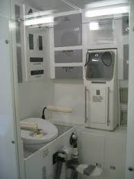 Mir Space Station Bathroom at NASA Kennedy Space Center