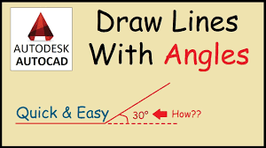 Click in the areas where you want to erase/break the line. How To Draw A Line At An Angle In Autocad Youtube