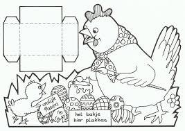 Paasmandje Kleurplaat Auto Electrical Wiring Diagram