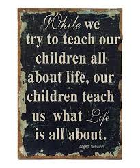 while we try to teach our children canvas wall art on toddler canvas wall art with while we try to teach our children canvas wall art zulily