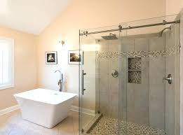 barn door shower door sliding glass shower doors hardware kohler barn door shower doors barn door shower