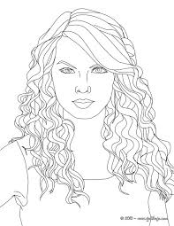 Small Picture TAYLOR SWIFT coloring pages Taylor Swift cat s eyes throughout