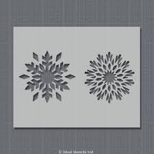 Christmas Snowflakes Pictures Christmas Snowflakes Stencil