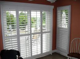 Window Treatments For Sliding Glass Doors Ideas Shutters For Sliding Glass Doors The Door Home Design