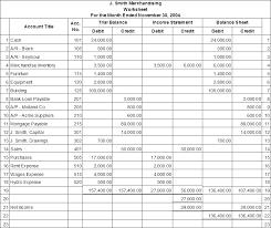 Accounting Worksheets Rome Fontanacountryinn Com