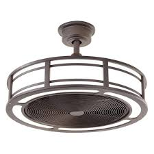 ceiling fan outdoor. home decorators collection brette 23 in. led indoor/outdoor espresso bronze ceiling fan outdoor