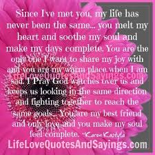 My One And Only Love Quotes