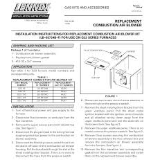 i have a lennox g23q3 100 4 furnace a mounting tab on the full size image