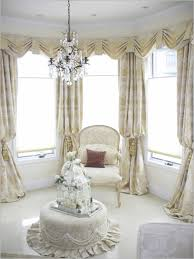 Living Room Lovely Living Room Curtain Idea For Bay Window Get