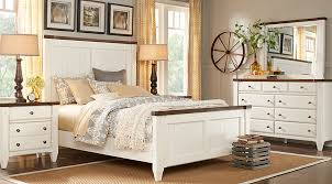 Cottage Town White 5 Pc King Panel Bedroom - King Bedroom Sets White