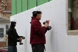 exterior wall insulation r value