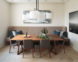 floor seating dining table. Banquette Bench Seating Dining Room Contemporary With Gray Throw Pillow Floor Table