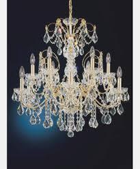 lamp schonbek swarovski strass crystal chandelier fabulous schonbek