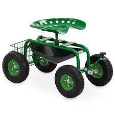 tool tray and basket garden cart