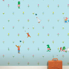 Kikker Behang Blauw Kinderboekenkado