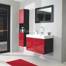 black bathroom furniture be bold with this striking high gloss red and black bathroom furniture range black bathroom