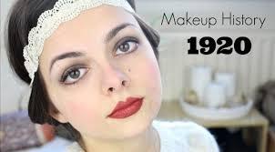 makeup history 1920 s