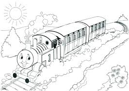 Thomas Train Coloring Pages Entucorg
