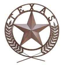 Metal Star Wall Decor Texas Metal Star Wall Plaque American Art Home Door Sign Country