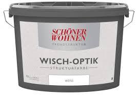 Schöner Wohnen Trendstruktur Effektfarbe Wisch-Optik Strukturfarbe ...