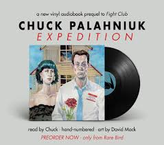 "a vinyl audiobook of the fight club prequel story ""expedition""by  no caption provided"