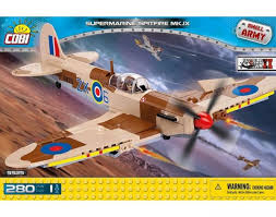 <b>Конструктор Cobi</b> 5525 Самолет <b>Supermarine</b> Spitfire Mk. IX