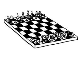 Small Picture Coloring page chess img 9573