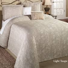 Modern Bedroom Bedding Bedroom Design Beautiful Light Taupe Matelasse Bed Cover And