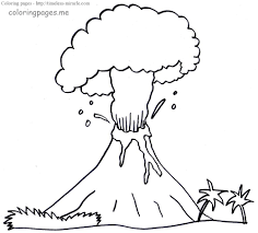 Some of the coloring page names are volcano coloring to and for, volcano drawing on clipartmag, volcano volcano 2 blank coloring i abcteach, clip art geology volcano 2 bw labeled i abcteach. Volcano Coloring Pages For Kids Timeless Miracle Com
