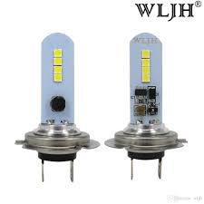 H7 Led Lights Wljh Car H7 Led Lamp Lights Fog Light Driving Bulb Auto Drl H7 Daytime Light For Acura For Ford For Honda Kia Chevrolet
