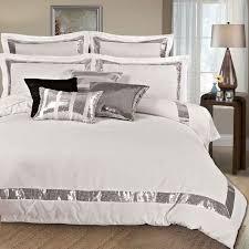 sequins queen king size duvet quilt cover set 3pcs bed linen set bedding set
